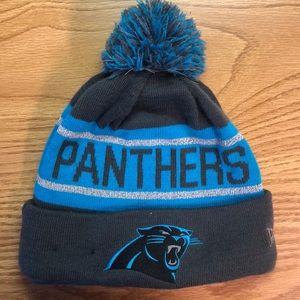 Carolina Panthers NFL New Era knit hat